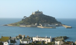 St Michael's Mount - High Spring Tide